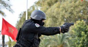الناظور .. رصاصة توقف شخصا عنيفا عرض الشرطة لاعتداء خطير