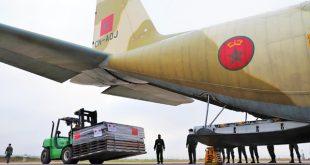 أمر بها جلالة الملك.. ثلاث طائرات محملة بالمساعدة الطبية العاجلة تتوجه إلى تونس