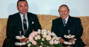 جلالة الملك إلى يعزي أسرة المرحوم عبد العزيز بوتفليقة الرئيس الجزائري السابق